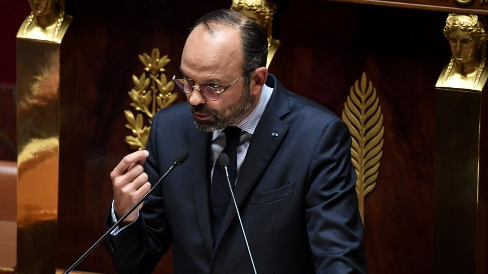 Edouard Philippe le 12 juin 2019 à l'Assemblée Nationale