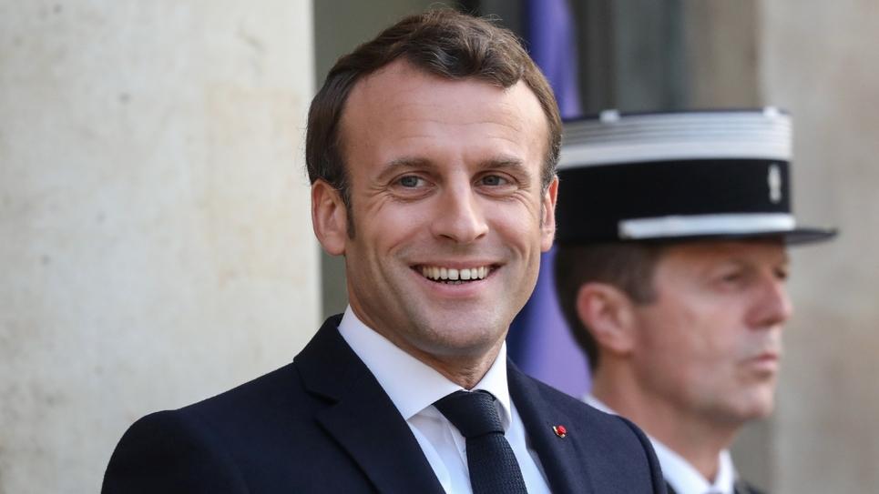 Emmanuel Macron à l'Elysée à Paris le 20 mai 2019