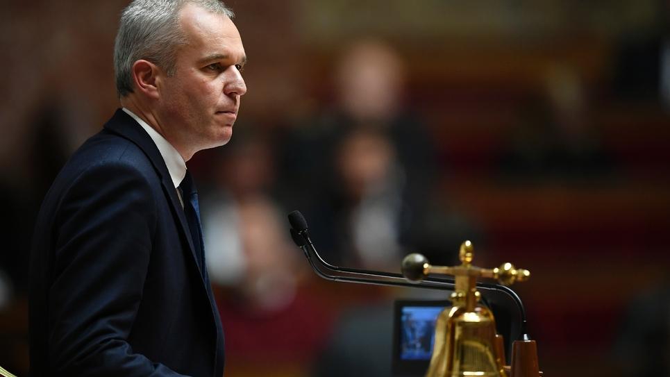 Le président LREM de l'Assemblée nationale, François de Rugy, préside une session de questions au gouvernement à l'Assemblée, le 31 octobre 2017
