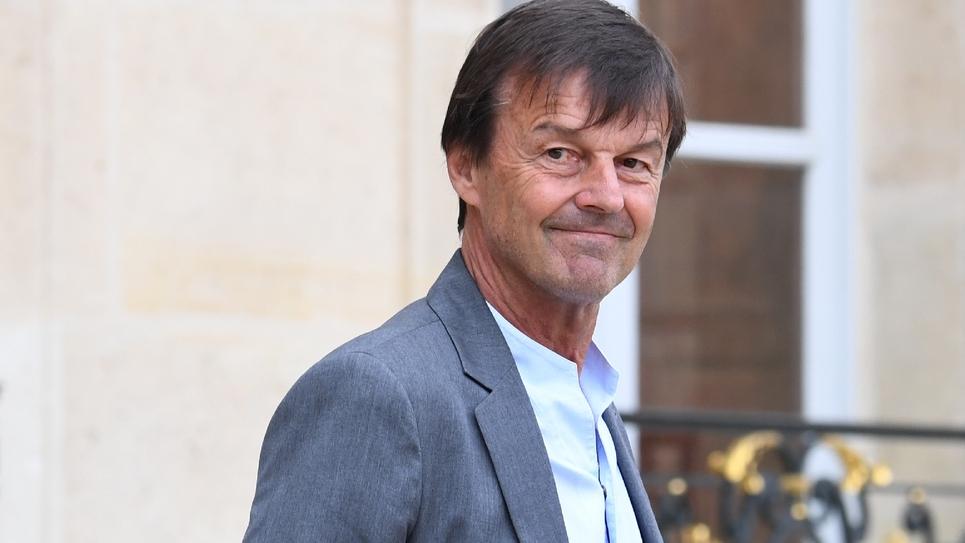 Le ministre de la Transition écologique Nicolas Hulot le 6 juin 2018