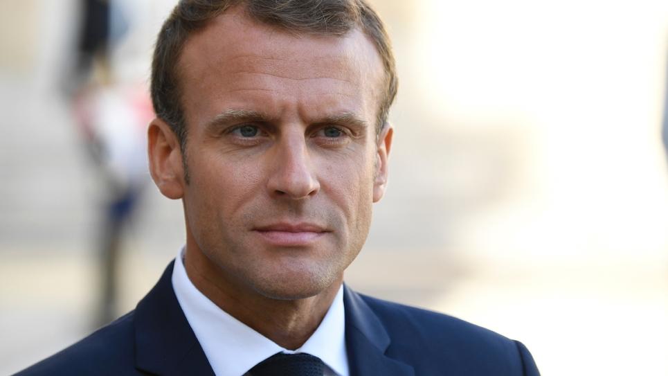 Le président de la République Emmanuel Macron le 17 septembre 2018 à Paris