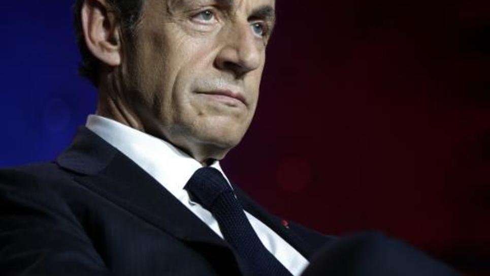 Nicolas Sarkozy, le 3 juin 2015 à Paris