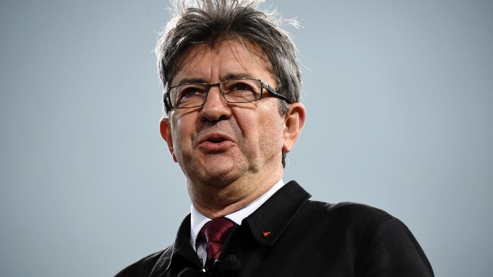 Jean-Luc Melenchon en mars 2017 à Paris