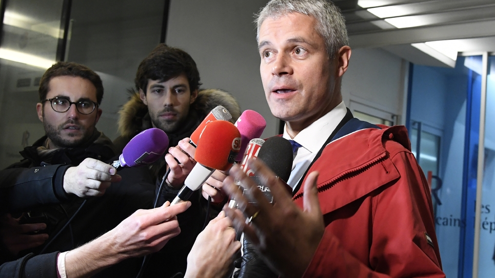 Laurent Wauquiez le 29 novembre 2016 à Paris