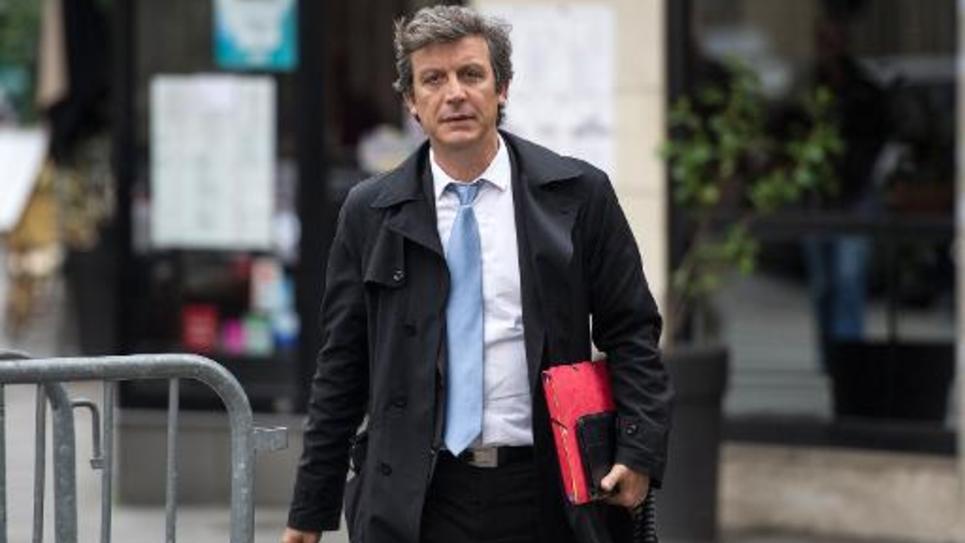Le sénateur PS David Assouline à Paris, le 27 mai 2014