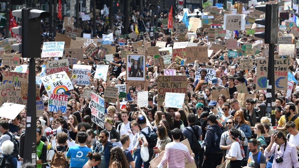 Manifestation pour le climat, le 24 mai 2019 à Paris