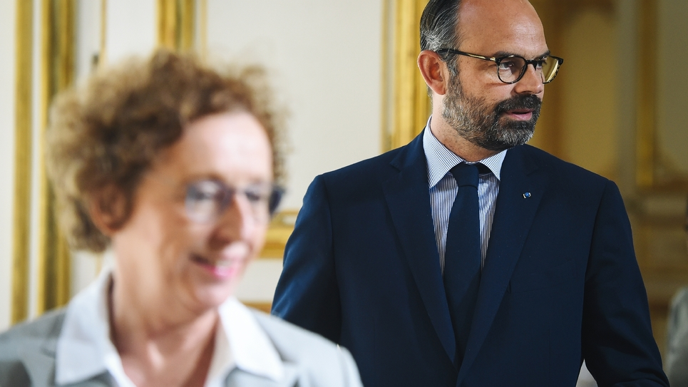Muriel Pénicaud et Edouard Philippe en juin 2019