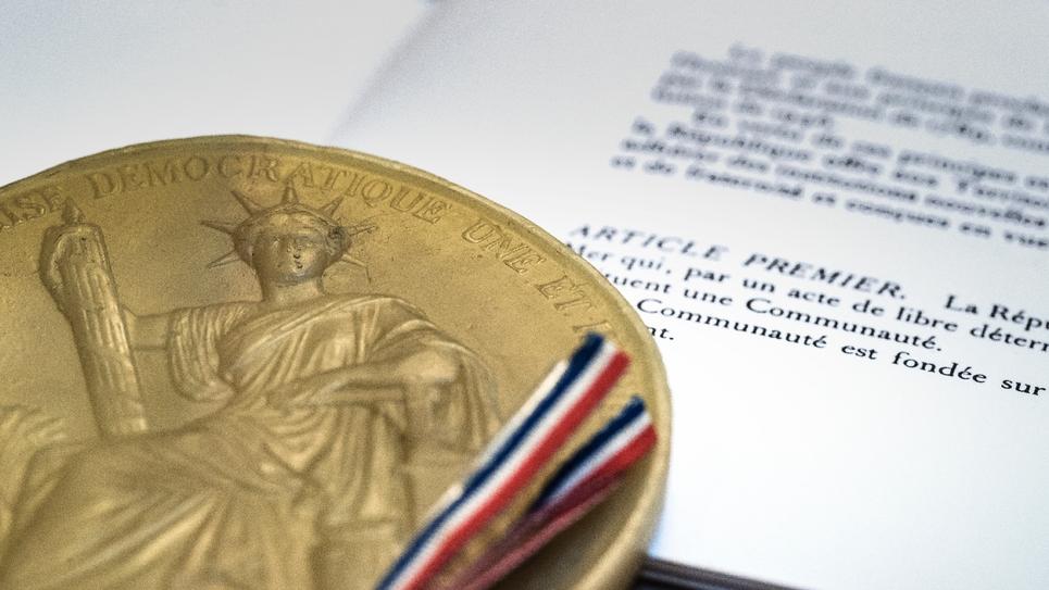 L'article 1er de la Constitution française
