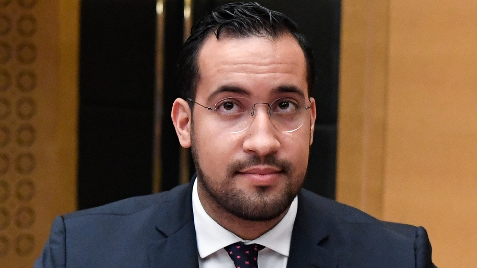Alexandre Benalla, le 18 septembre 2018, lors de son audition par la commission d'enquête du Sénat