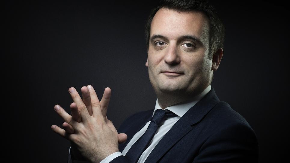 L'ex-vice président du FN Florian Philippot le 13 mai 2016 à Paris