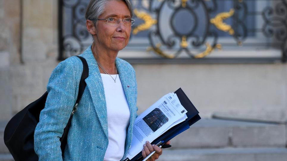 La ministre des Transports Elisabeth Borne, le 10 octobre 2018 à l'Elysée