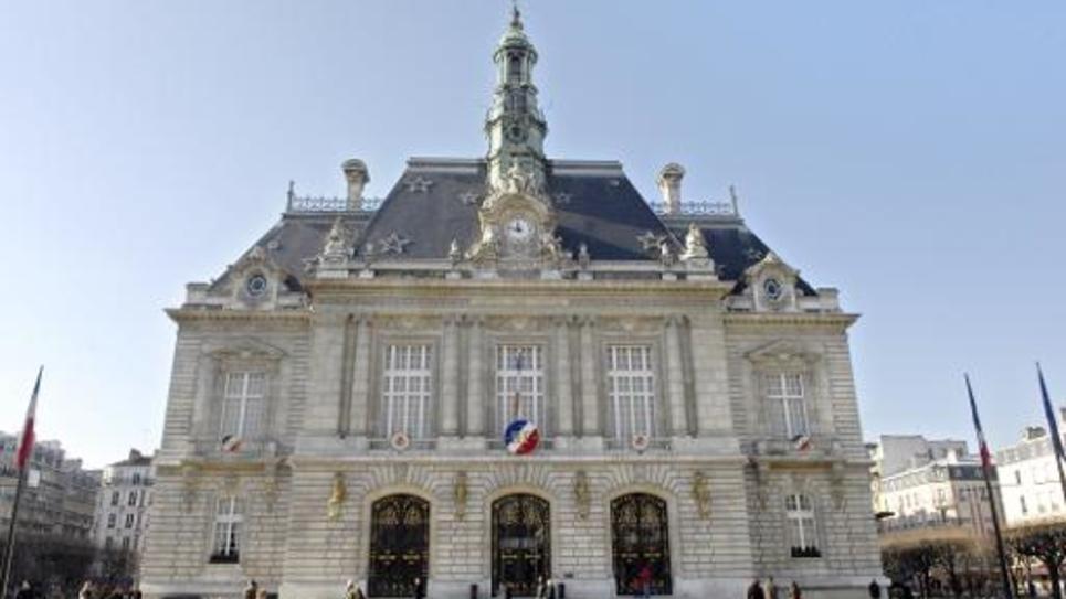 La mairie de Levallois-Perret le 17 février 2008