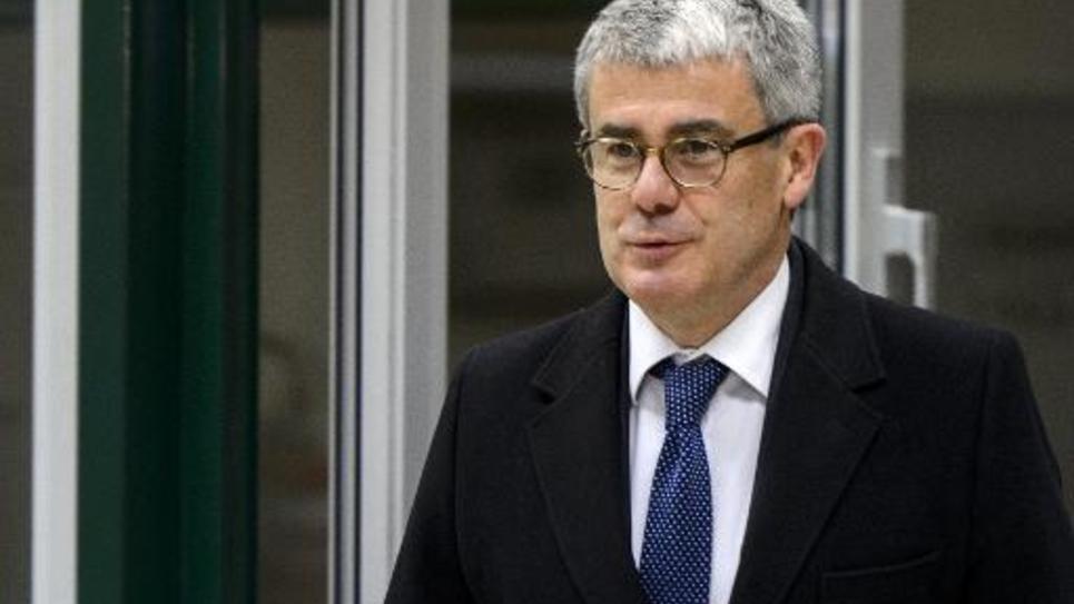 Jacques Audibert, alors directeur des affaires politiques au Quai d'Orsay, arrive le 20 novembre 2013 à Genève aux négociations sur l'épineux dossier du nucléaire iranien