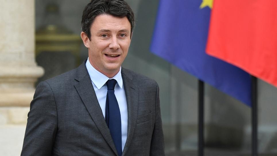 Le porte-parole du gouvernement français, Benjamin Griveaux, le 24 octobre 2018