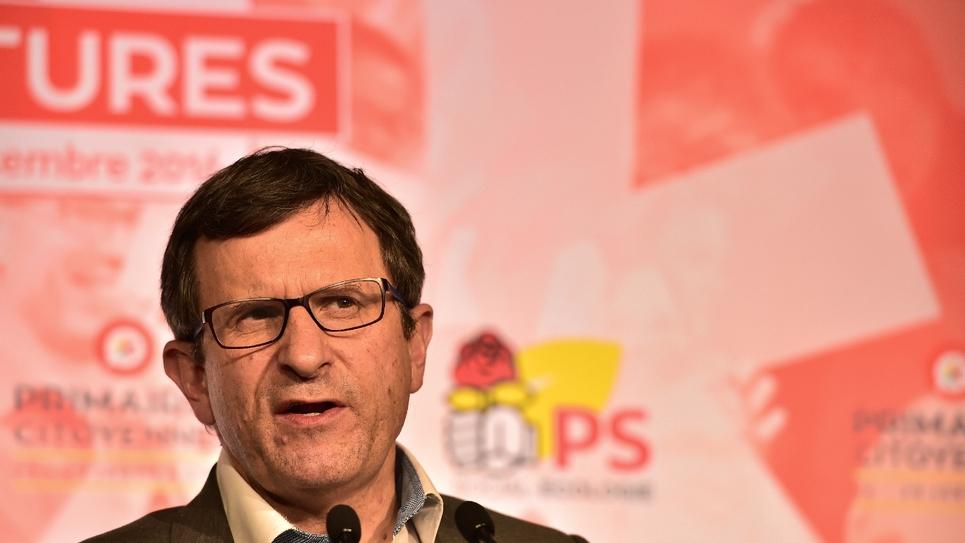 Le président du comité d'organisation de la primaire (Cnop) de la gauche, le socialiste Christophe Borgel, à Paris le 17 décembre 2016