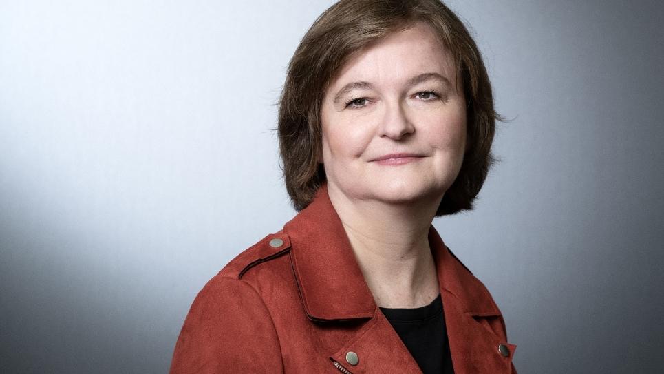 Nathalie Loiseau photographiée le 25 mars à Paris