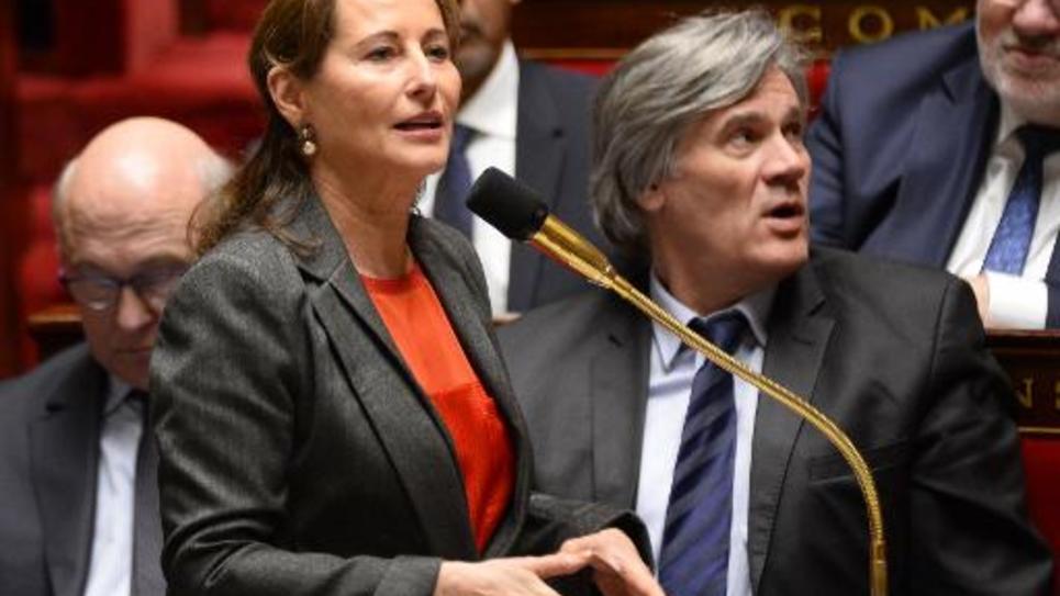 La ministre de l'Environnement Ségolène Royal à l'Assemblée nationale le 3 février 2015