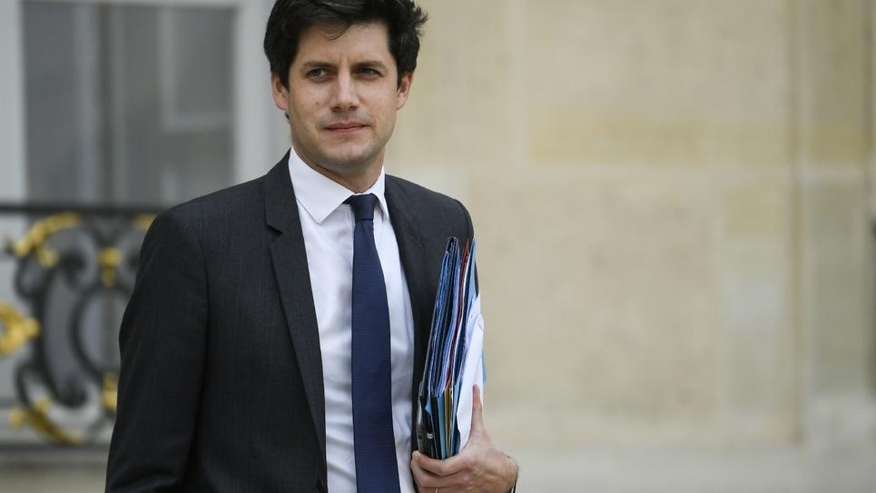 Le ministre du Logement Julien Denormandie, à l'Elysée, le 17 octobre 2018