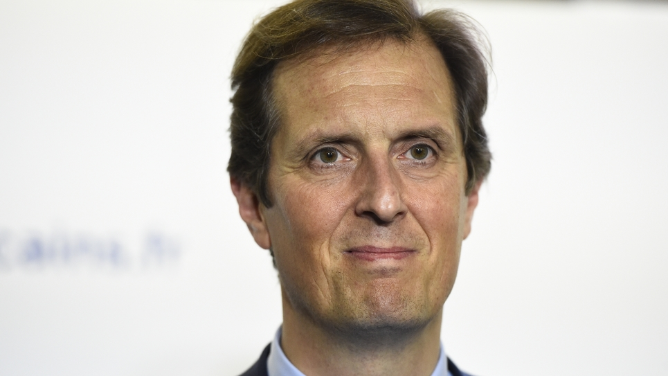 Le député Jérôme Chartier à Paris le 29 novembre 2016