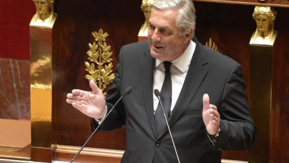François Sauvadet, vice-président de l'UDI, le 8 avril 2014 à l'Assemblée nationale à Paris