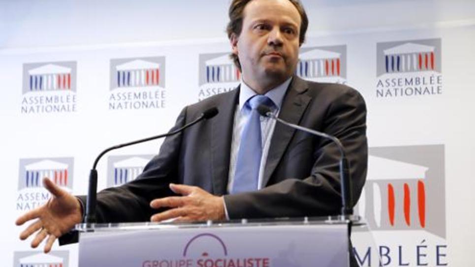 Le député PS Jean-Marc Germain le 30 avril 2013 à l'Assemblée nationale à Paris