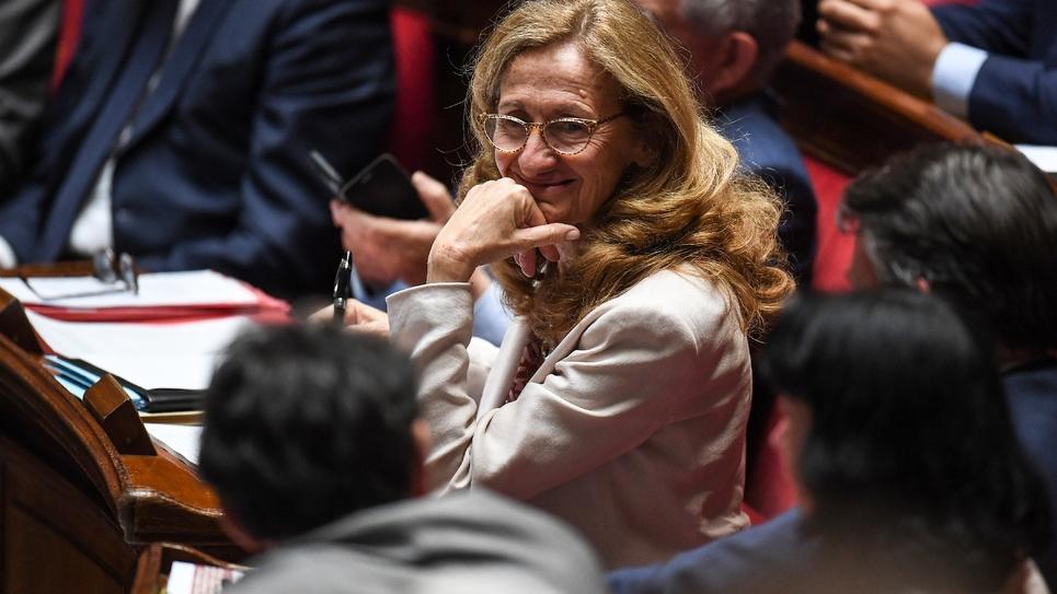 La ministre de la Justice Nicole Belloubet à l'Assemblée nationale, le 19 juin 2018