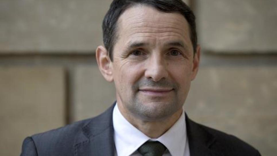Le secrétaire d'Etat Thierry Mandon le 15 janvier 2014 à Paris