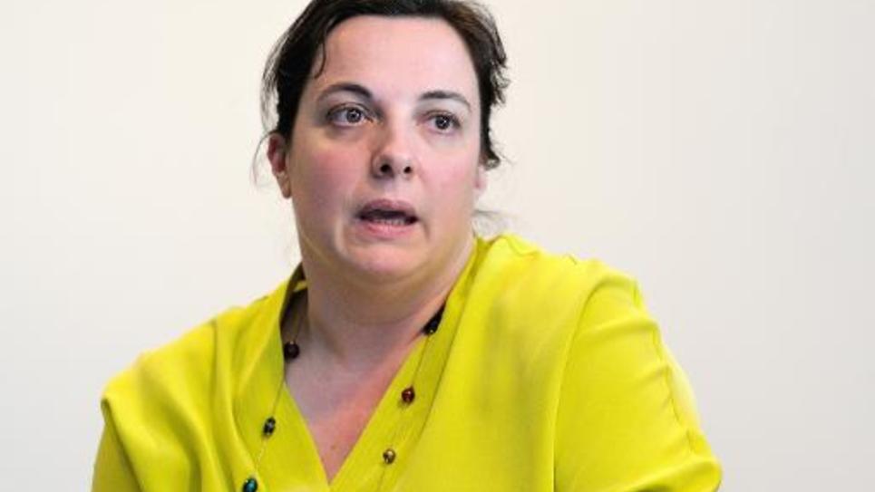 Emmanuelle Cosse le 16 mai 2014 à Lille