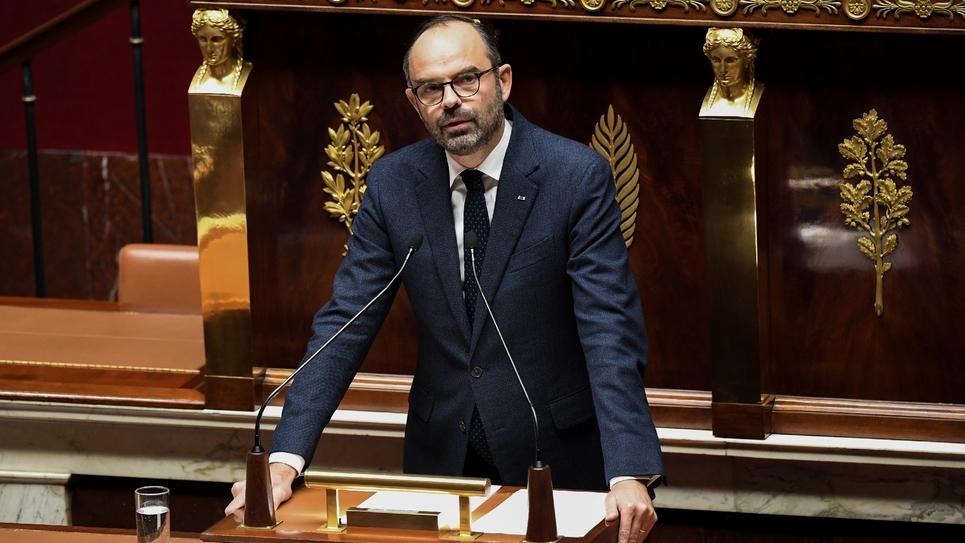 Le Premier ministre Edouard Philippe à l'Assemblée nationale,le 5 décembre 2018 à Paris
