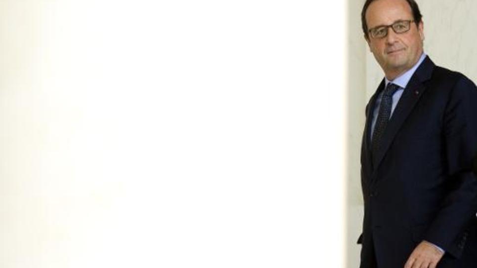 François Hollande à l'Elysée, le 1er octobre 2014