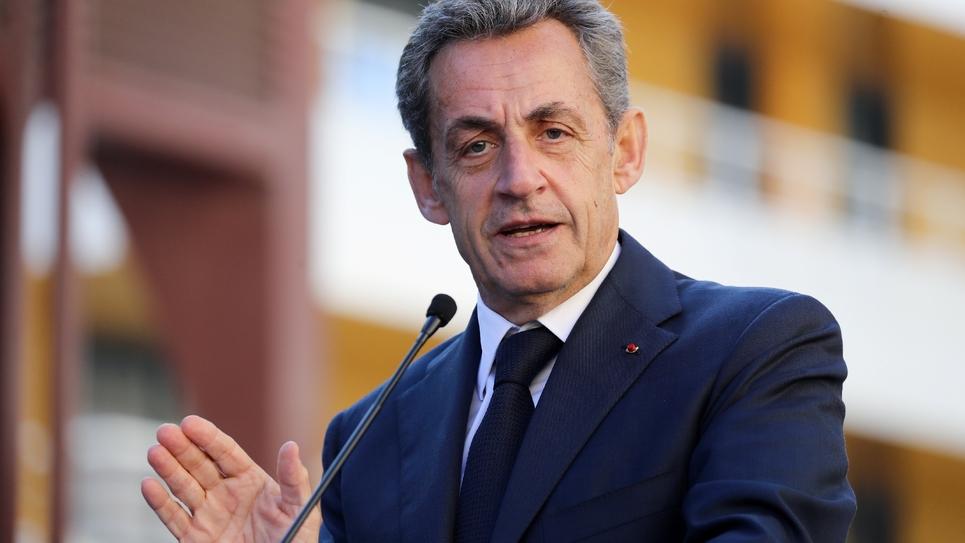 Nicolas Sarkozy en novembre 2018