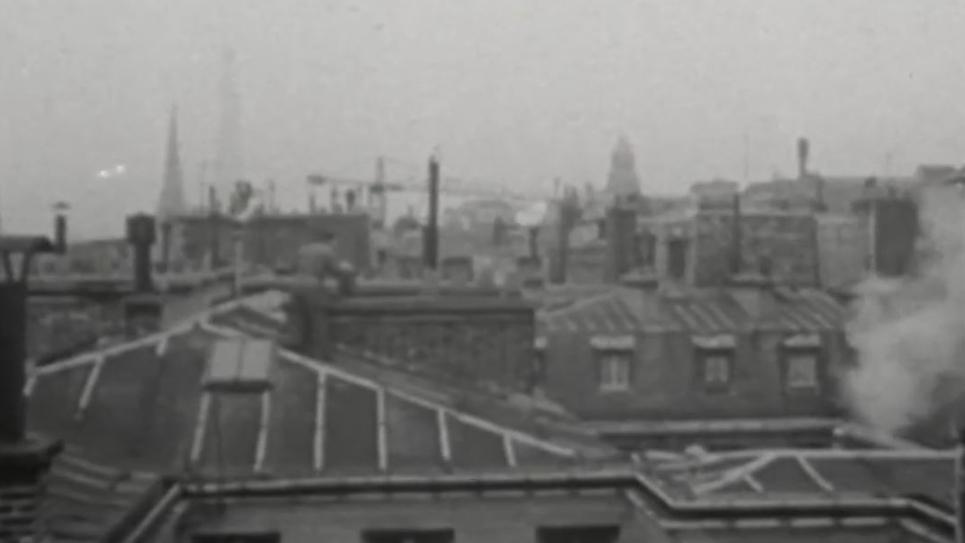 paris pollué en 1958
