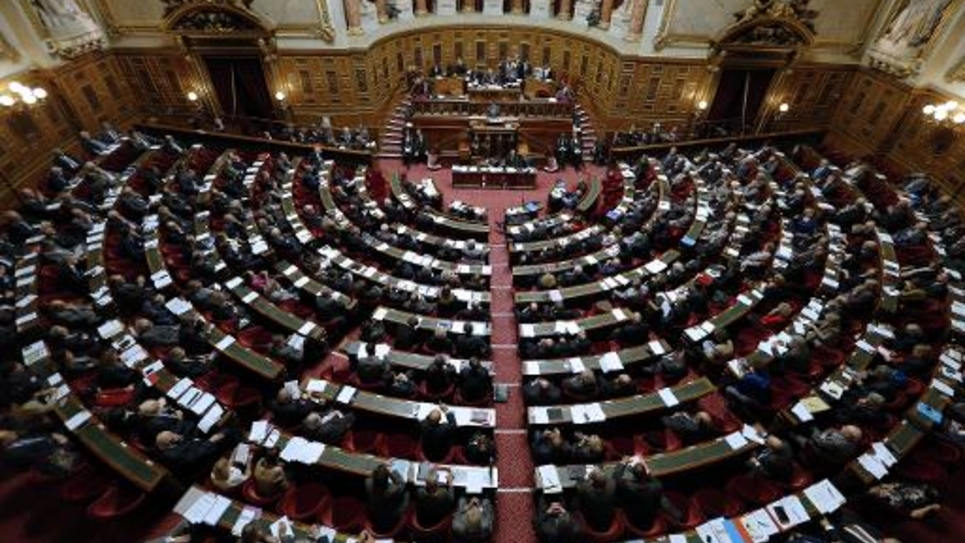 Le Sénat à Paris, le 28 octobre 2014