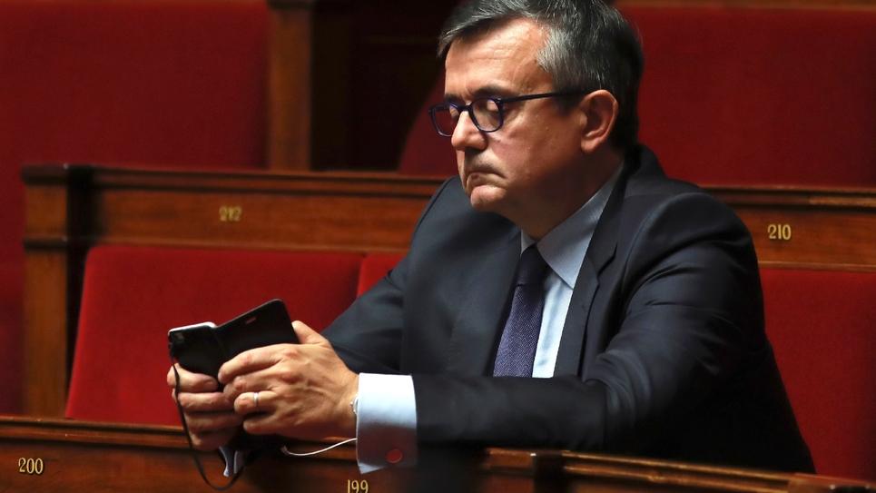 Yves Jégo le 16 novembre 2016 à l'Assemblée nationale