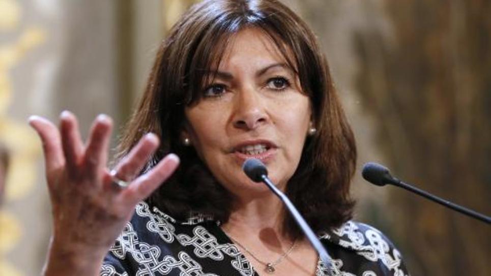 La maire de Paris Anne Hidalgo le 21 mai 2015 à Paris