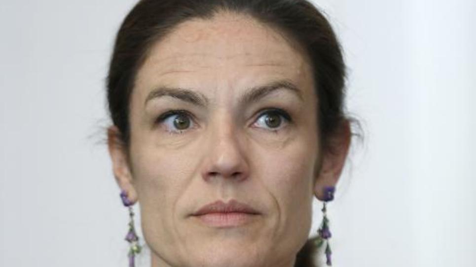 La sénatrice UDI Chantal Jouanno, le 5 mai 2014 à Paris