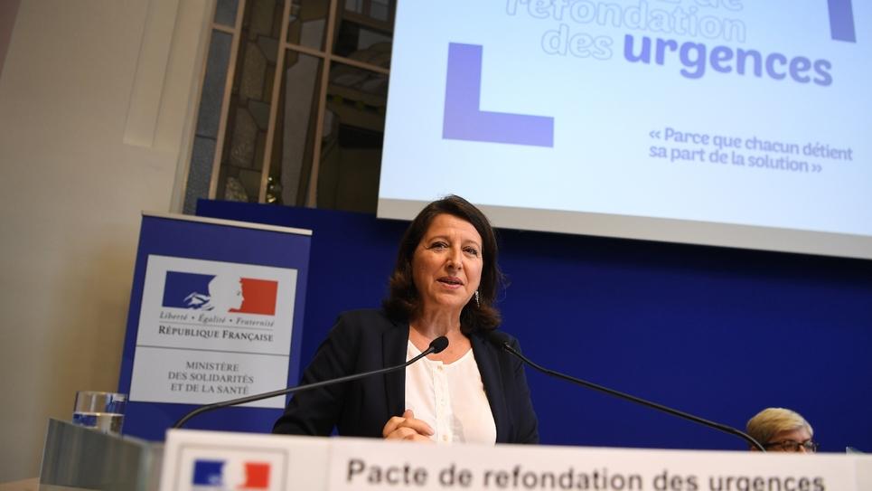 La ministre de la Santé Agnès Buzyn, le 9 septembre 2019 à Paris