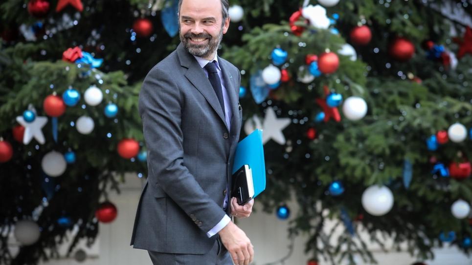 Le Premier ministre Édouard Philippe le 14 janvier 2019 à Paris