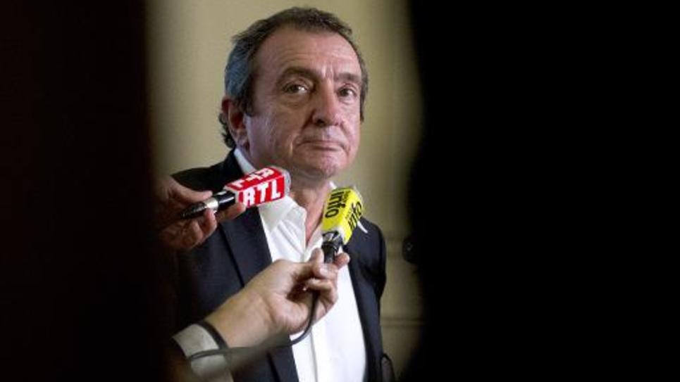 L'avocat de la société de communication Bygmalion Me Patrick Maisonneuve, le 26 mai 2014 à Paris