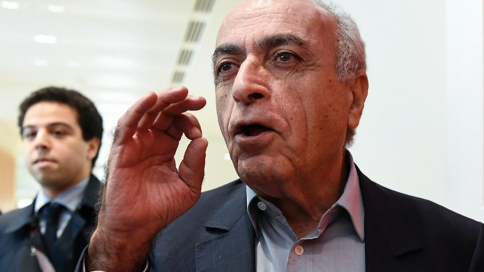 L'homme d'affaires franco-libanais Ziad Takieddine, le 7 octobre 2019 arrive au tribunal de Paris