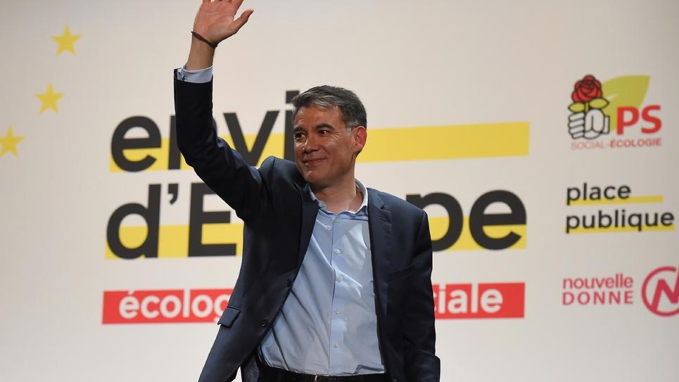Le Premier secrétaire du Parti socialiste (PS), Olivier Faure, à Bordeaux le 2 mai 2019