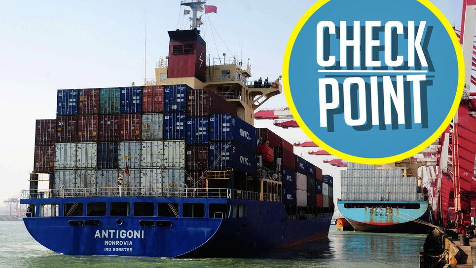 Check point échanges commerciaux Union européenne/ États-Unis