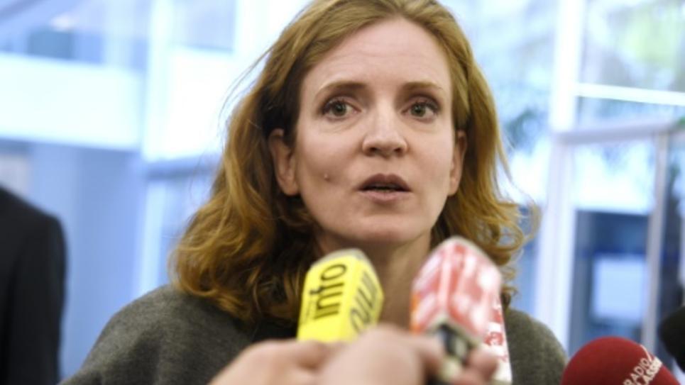 La vice-présidente des Républicains Nathalie Kosciusko-Morizet le 30 septembre 2015 à Paris