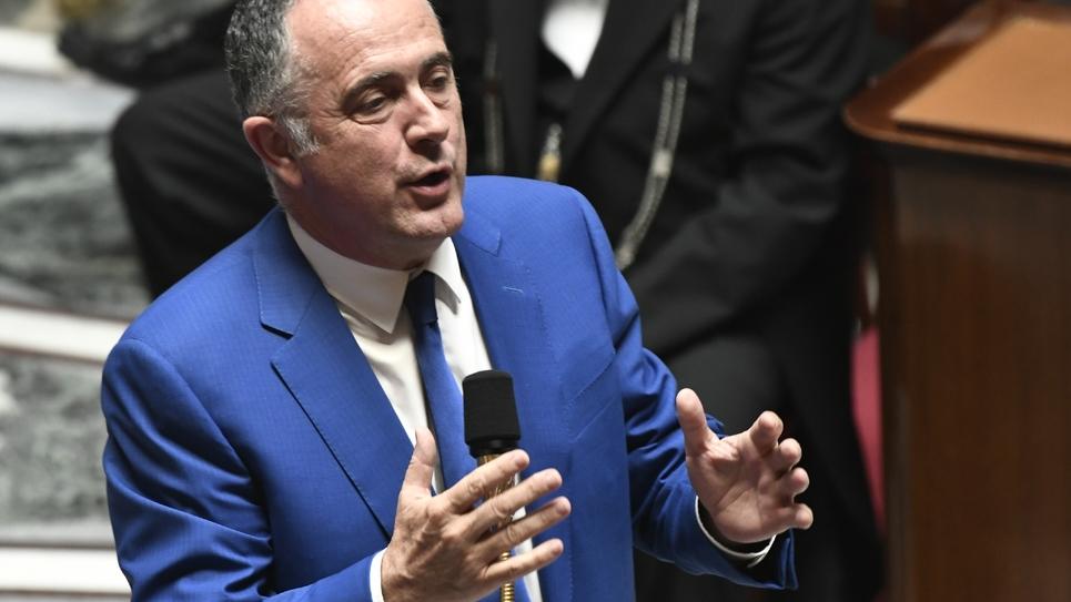 Le ministre de l'Agriculture Didier Guillaume à l'Assemblée nationale, le 23 juillet 2019 à Paris
