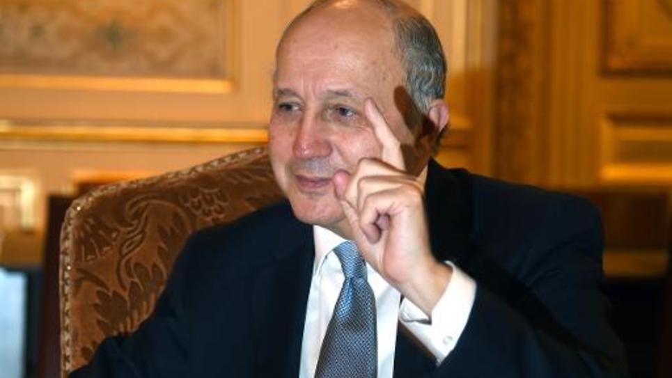 Le ministre des Affaires étrangères Laurent Fabius le 6 janvier 2015 à Paris