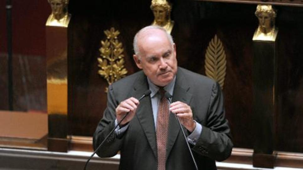Le député UMP et ex-ministre des Transports Dominique Bussereau, à l'Assemblée nationale, le 24 juin 2014