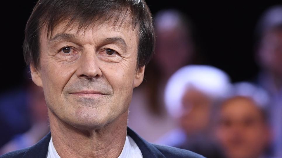 """Nicolas Hulot sur le plateau de """"L'émission politique"""" sur France 2, à Saint-Cloud (Hauts-de-Seine), le 22 novembre 2018"""