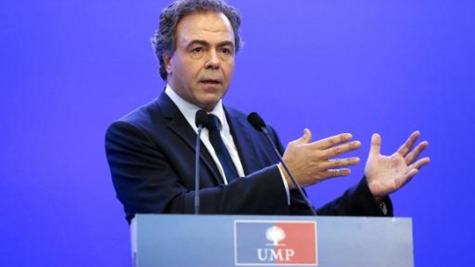 Luc Chatel, secrétaire général de l'UMP, le 14 juillet 2014 à Paris