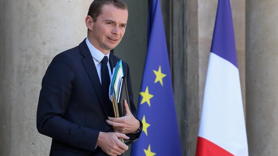 Les mesures déjà décidées par l'exécutif vont coûter entre huit et dix milliards d'euros, selon Olivier Dussopt, secrétaire d'Etat auprès du ministre de l'Action et des Comptes publics (ici le 27 juin 2018 à Paris)