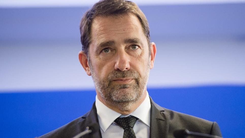 Le ministre de l'Intérieur Christophe Castaner le 17 septembre 2019 à Marseille